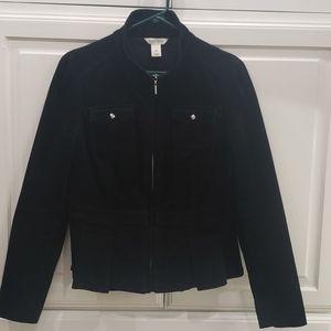 WHBM Peplum Corduroy Jacket Size 8